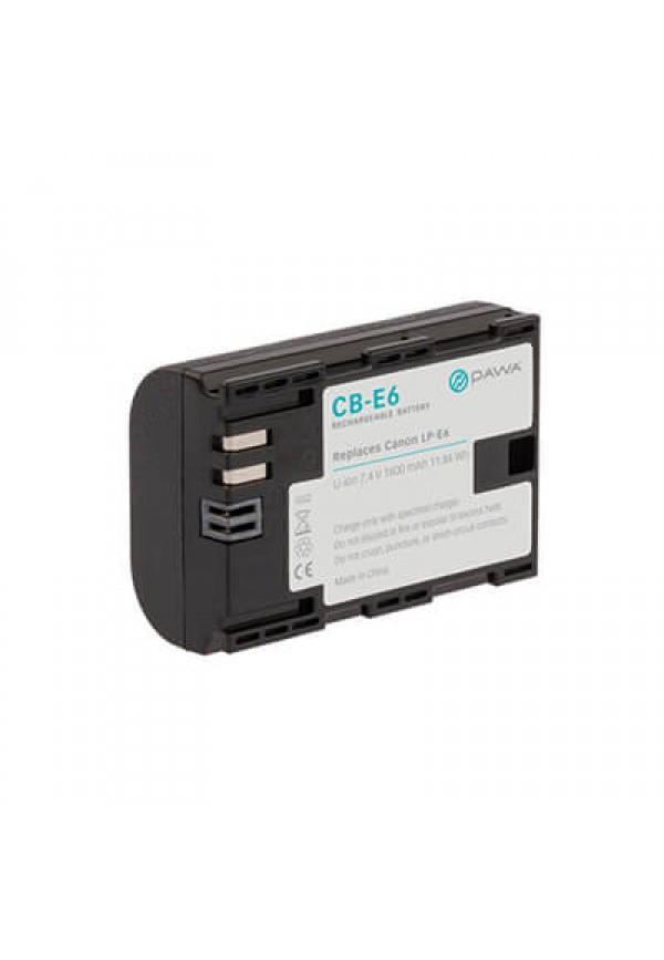 Battery Pack LP-E6 for EOS 5DII/7D/60D/5DIII/6D