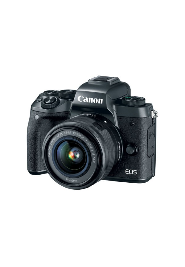 Canon EOS M5 with EF-M 15-45mm