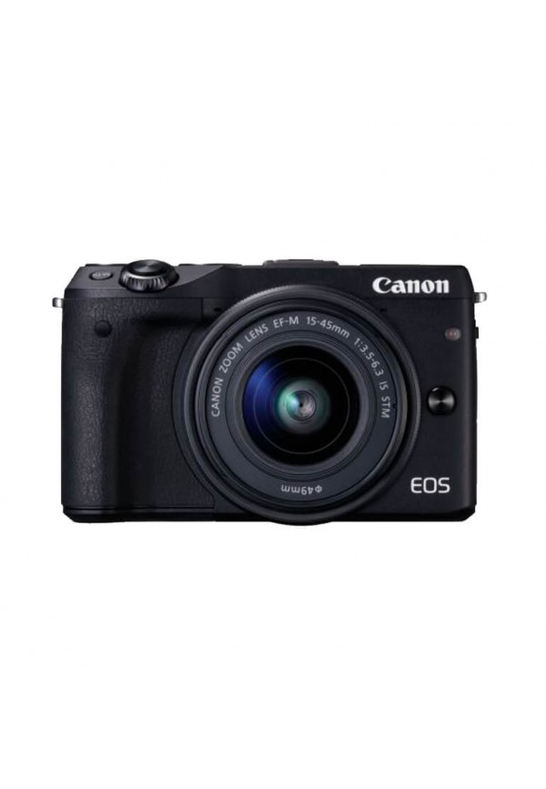 EOS M3 Black with EF-M15-45mm