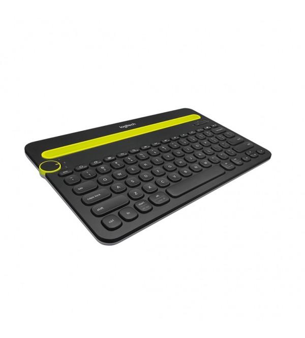 LOGITECH Bluetooth Multi-Device Keyboard K480 [920-006380] – White