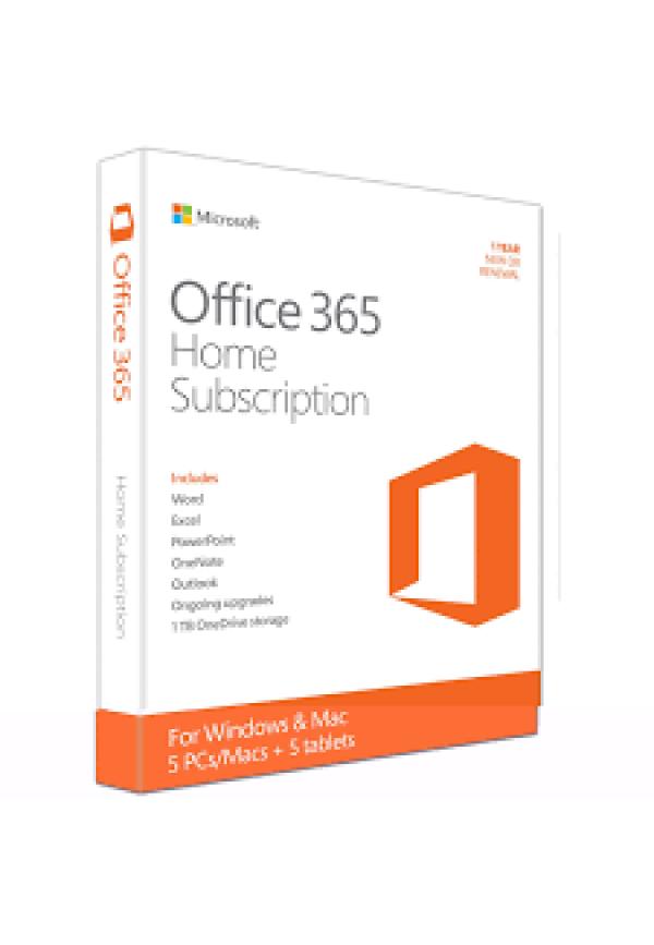 Office  365 Home English APAC EM Subscr 1YR