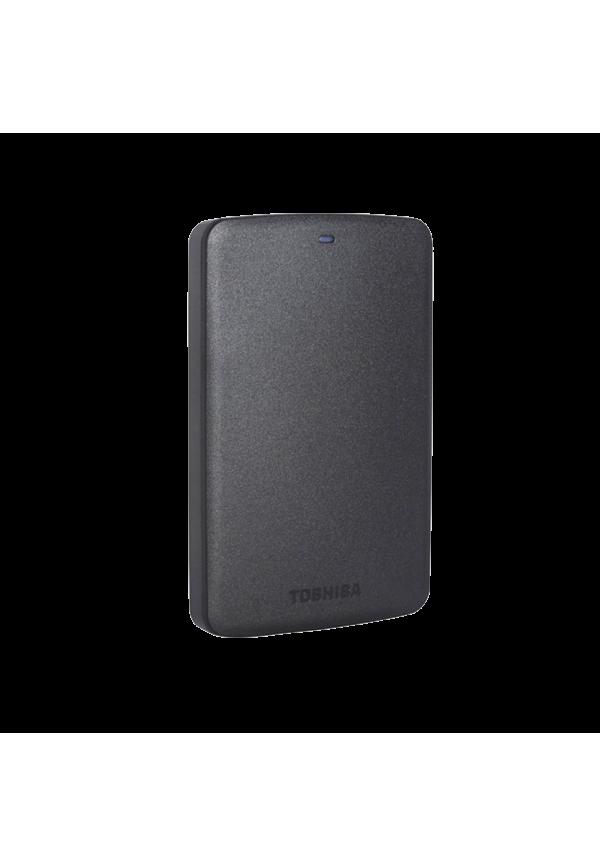 TOSHIBA Canvio Basic 3.0 Portable Hard Drive 1TB [HDTB310AK3AA] – Black